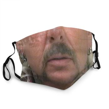 Joe Exotic Tiger King Mouth Reusable Face Mask Animal Documentary Anti Haze Anti Dust Protection Cover Respirator Mouth Muffle image