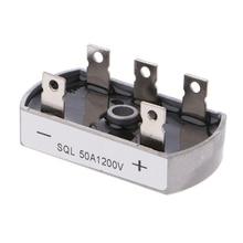 цена на 50A 1200V Aluminum Metal Case 3 Phase Diode Bridge Rectifier 50Amp SQL50A Module