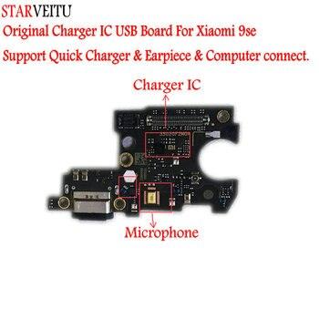 Starveitu Voor Xiaomi 9 Se Originele Usb Board Flex Kabel Dock Connector Microfoon Ondersteuning Snellader Computer Sluit