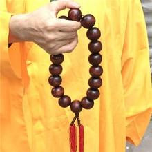 Kung-Fu-Uniform Tai-Chi Shaolin Martial-Arts Monk To Big Necklace Meditation-Suit Beads