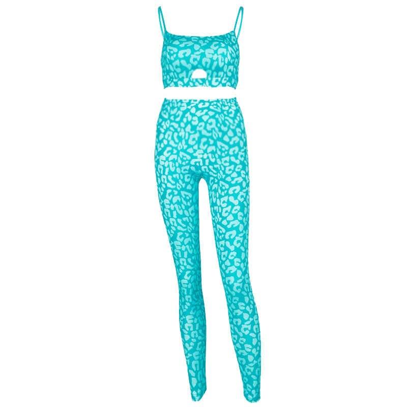 2019 novas mulheres sem costas impressão conjunto de yoga cintura alta retalhos elástico fitness macacão ginásio wear esporte terno empurrar para cima calças yoga