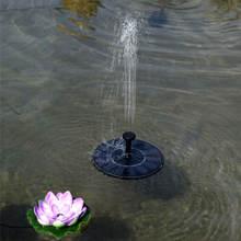 Открытый фонтан на солнечной энергии плавающий бассейн для воды