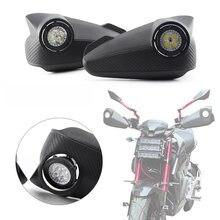 1 paire pour Honda MSX125 MSX main garde moto LED protège-mains avec lumière LED protège-main main garde universelle