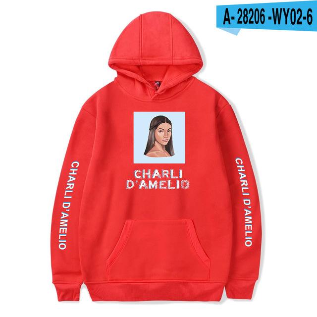 CHARLI D'AMELIO THEMED HOODIE (30 VARIAN)