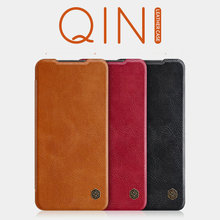 Für Xiaomi Redmi Hinweis 9 Pro Max Pro Fall Flip Cover Original Nillkin Qin Leder Buch Redmi Note9 Pro Redmi hinweis 9s Funda Tasche
