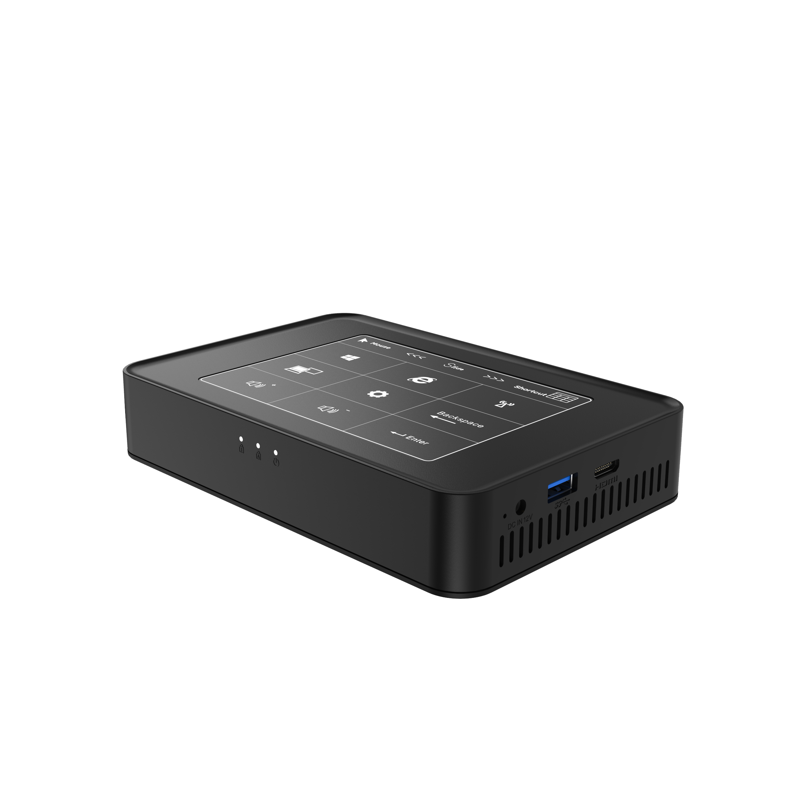 New Celeron J3455 LPDDR3L 6G SSD 128G Windows 10 Mini Pc HTPC With Touch Control Board Panel Win10 Desktop