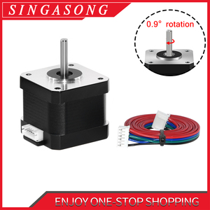 Image 1 - Nema17 Stepper Motor 0.9 Degree Higher precision 280 mN.m/57g.Cm 1.3A 17HS4401 4 Lead DIY CNC 3D Printer