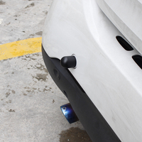 1 шт. защита от столкновений Авто декоративный автомобильный стикер для Smart 453 451 450 Fortwo Forfour защита от слежения модификация автомобиля