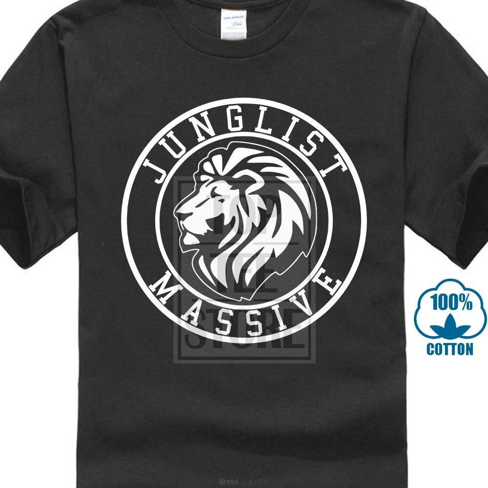 Junglist Massive Drum N Bass Uk Rave Unisex T Shirt All Sizes 018303