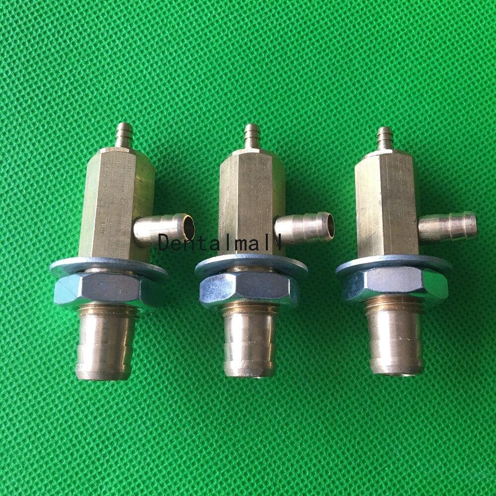 6*4mm Dental Strong Suction Brass Valve For Dental Supplies Dental Chair Accessories