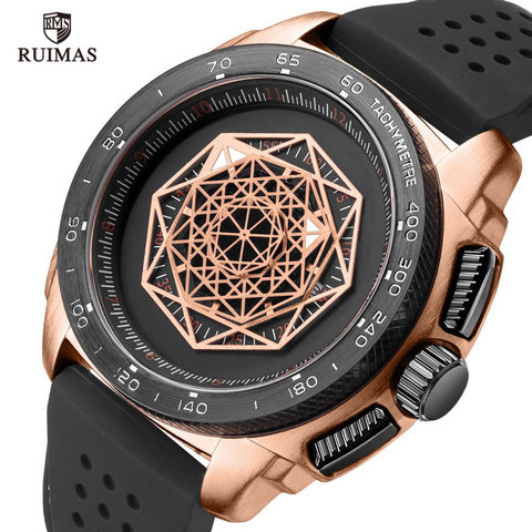 Watches Men Sports Watches Military  Quartz Wrist  Men  Watch Waterproof Clock Male Relogio Masculino Silicone Black Lahore