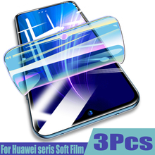 3-1Pcs Protective 100D Hydrogel Film For Huawei P30 P20 lite P40 Lite Pro Mate 20 lite 20pro Honor 20 Screen Protector Not Glass автомат ekf mcb47100 3 100d pro
