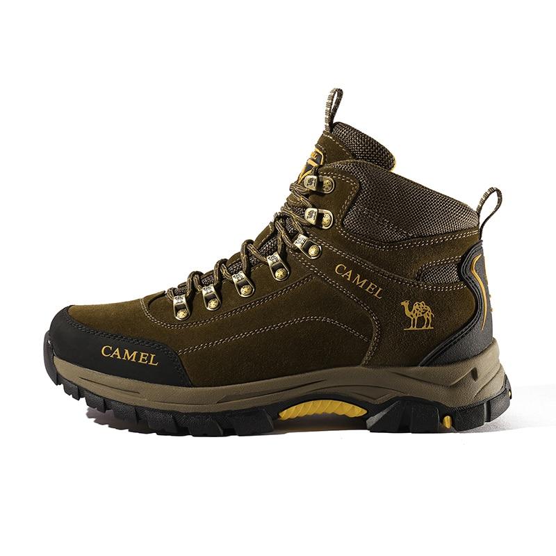 Image 3 - CAMEL Men Hiking Shoes Anti Slip Outdoor Tactical Shoes Walking  Trekking Climbing Sneakers Zapatillas Comfortable BootsHiking Shoes