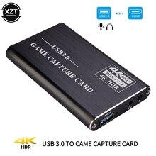 60 к/с 4K HDMI к USB 3,0 карта захвата видео ключ 1080P HD видеорегистратор захват для захвата груди игровой прямой трансляции