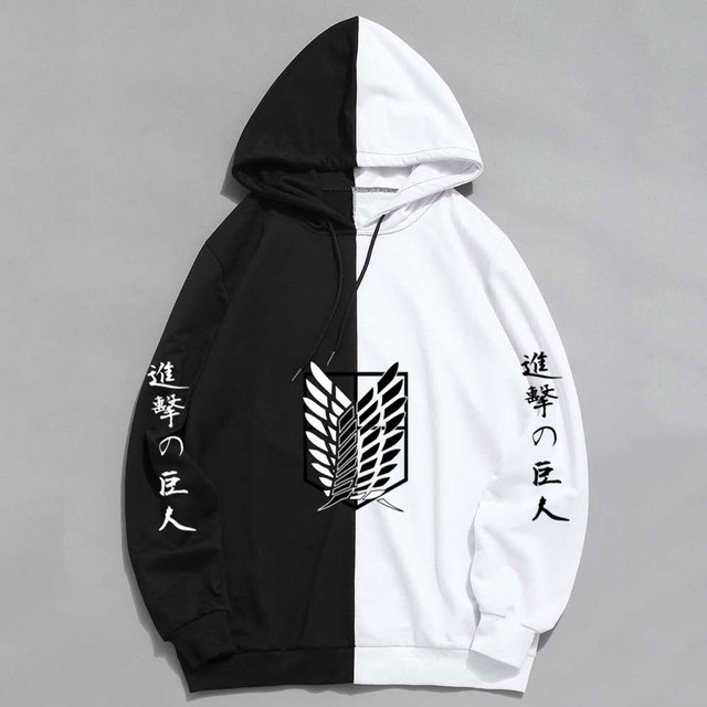 New Summer Anime Brand  Attack on Titan  Printing The Sharingan Hoodies Pullover Sweatshirt Harajuku Hip Hop Thin Clothing