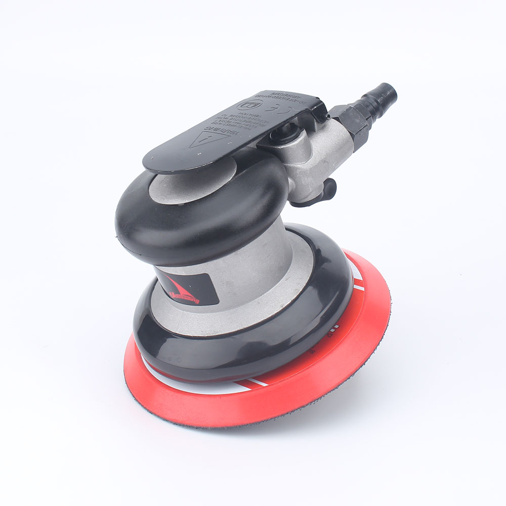 YOUSAILING Orbital Palm Sander Polisher  5inch 125mm Pad Pneumatic Sanders Free Shipping