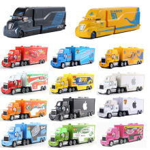 Genuine Disney Pixar Boutique Car 3 Mike Jackson Storm Cool Sister Truck 1:55 Cast Model Toys Children Christmas Gifts(China)