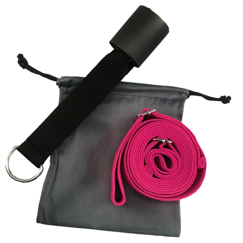 3M Door Flexibility Stretching Yoga Stretch Strap Leg Stretcher Strap D Ring Belt Dance Gymnastics Resistance