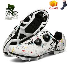 2021 obuwie rowerowe sapatilha ciclismo mtb mężczyźni Sneakers kobiety buty na rower górski samoblokujący oddychające wyścigi buty rowerowe tanie tanio HOMASS CN (pochodzenie) PRAWDZIWA SKÓRA Dla osób dorosłych oddychająca Zwiększające wysokość Lekkie Masaż wodoodporne