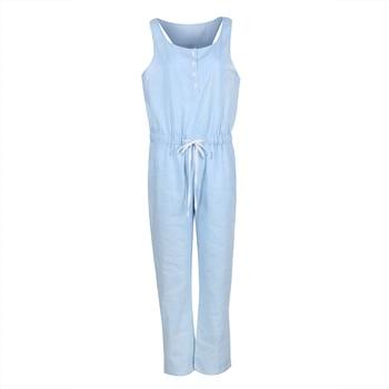 Ολόσωμη φόρμα από μαλακό καλοκαιρινό τζιν Γυναικεία Παντελόνια Ρούχα MSOW