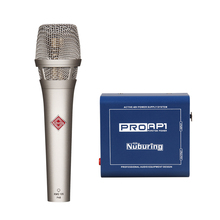 Condensator Microfoon Nurbring K105 Professionele Supercardioid Studio Opname Asmr Mic + 48V Phantom Power Podcast Live Show