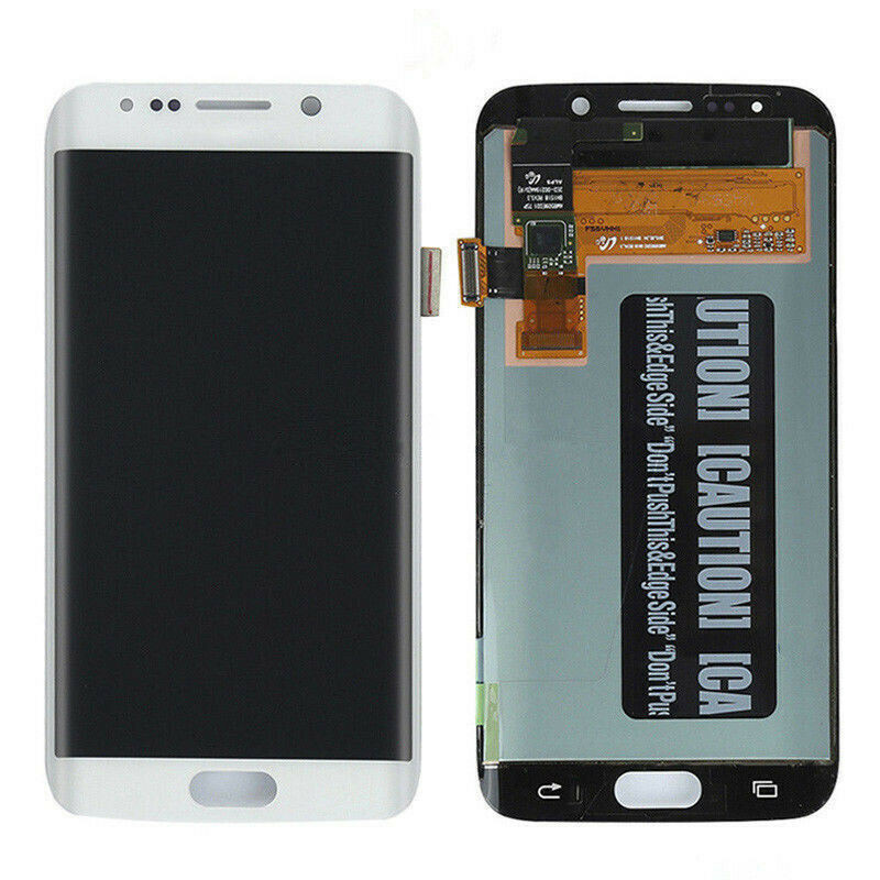 ORIGINAL  AMOLED LCD  For SAMSUNG Galaxy S6 Edge  G925 G925F Touch Screen Digitizer Display With Line