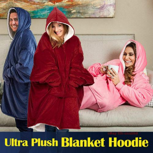 Hoodie Sweatshirt For Women Oversize Hoody Sweatshirt Blanket Sherpa Coats Comfy Pullover Christmas Sudadera Mujer