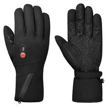 2021 New Winter Warm Battery Heated Gloves 3 Shift Temperature Adjustment Heating Gloves for Skiing Motorcycling Fishing Walking