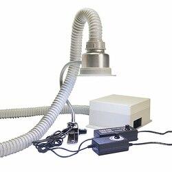Li humo de soldadura extractor de hierro ventilador de aire de humo antiestático máquina de fumar mantenimiento extractor de humos 220V 110V