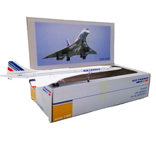 15CM 1:400 scale Concorde Air France airline 1976-2003 plane Model Aircraft Collection Display Alloy Toys metal Airplane gifts стоимость