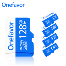 Onefavor TF Flash Card Micro SD Class10 8GB 16GB 32GB High Speed 64GB 128GB Standard UHS-1 Memory For Phone Pad Camer