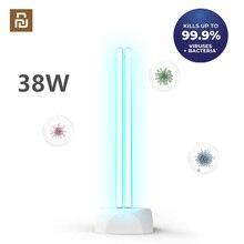Huayi 38W ev UV ozon sterilizasyon lamba çift tüp lamba ultraviyole antiseptik dezenfeksiyon masa lambası 40 ㎡ alan