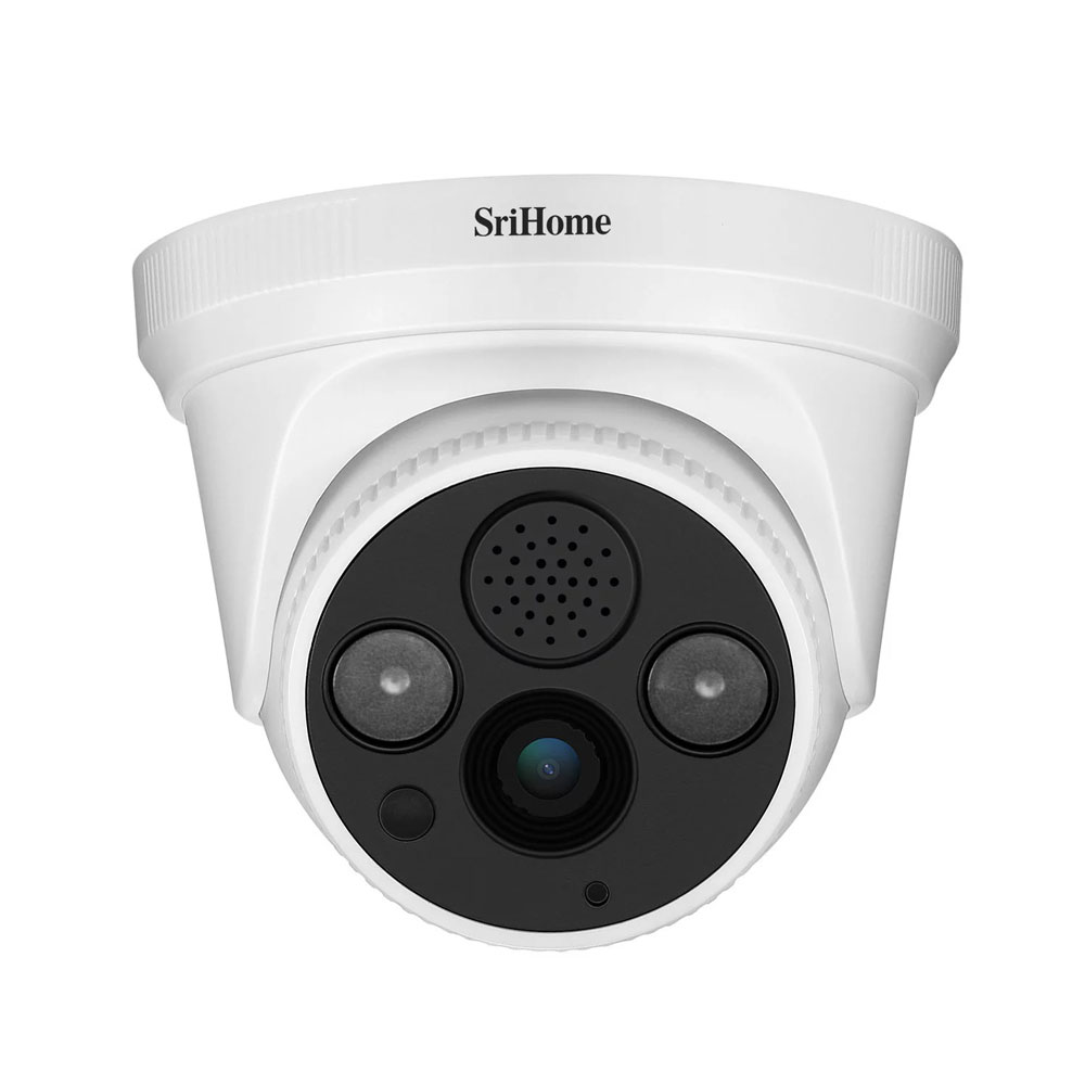 Sricam SH030 3.0MP Dome IP Camera H.265 Security CCTV Wifi Camera Two Way Audio Alarm Push ONVIF Video Surveillance  Work On NVR