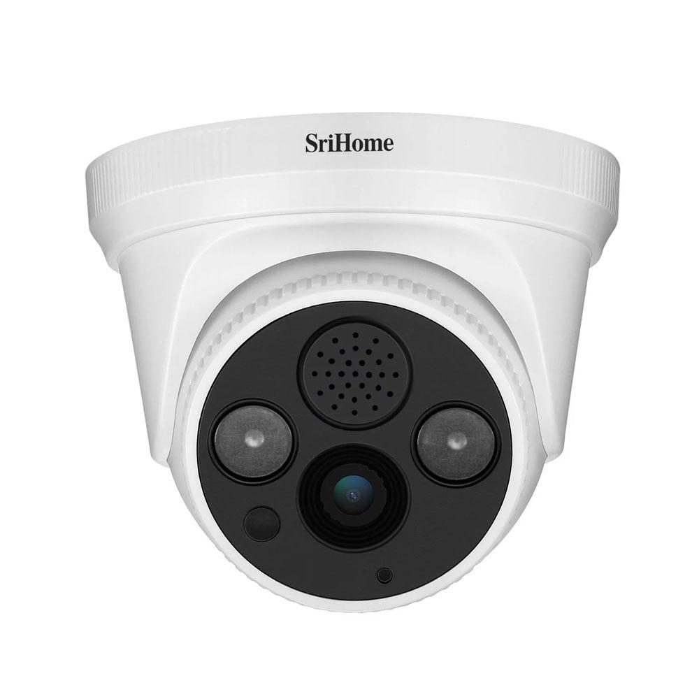 Sricam SH030 3.0MP Dome IP Camera H.265 Security CCTV Wifi Camera Two Way Audio Alarm Push ONVIF Video Surveillance  Work On NVR