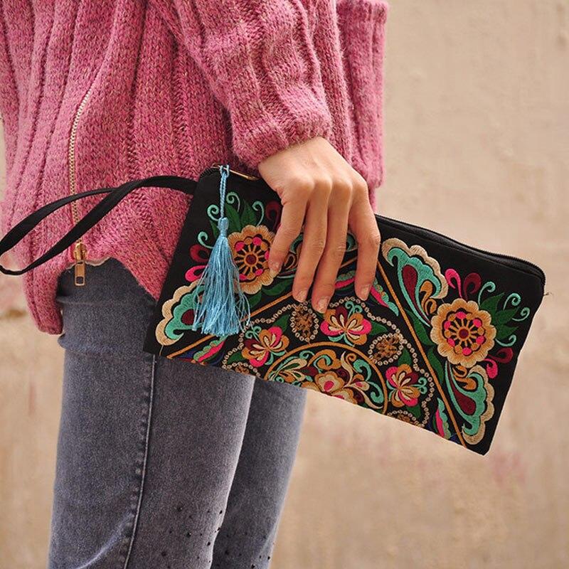 2017 Vintage Messenger Handbag Ethnic Boho Embroidered Floral Bags Shoulder Purse Gift SER88