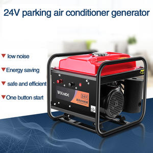 Small DC diesel gasoline truck parking air-conditioning inflatable gasoline generator