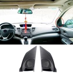 For Honda CRV CR-V 2012-2014 Car Door Tweeters Speakers Cover Panel Trim Kit