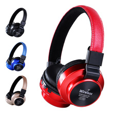 Bluetooth Portable Stereo Wireless Headset Universal Adjustable Headphones Music Intelligent Anti Noise Over Ear Games