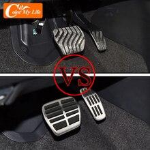 Carmilla Auto Pedale für Nissan Juke 2020 2021 Zubehör AT MT Brems Gas Cluth Pedal Schutz Abdeckung Edelstahl