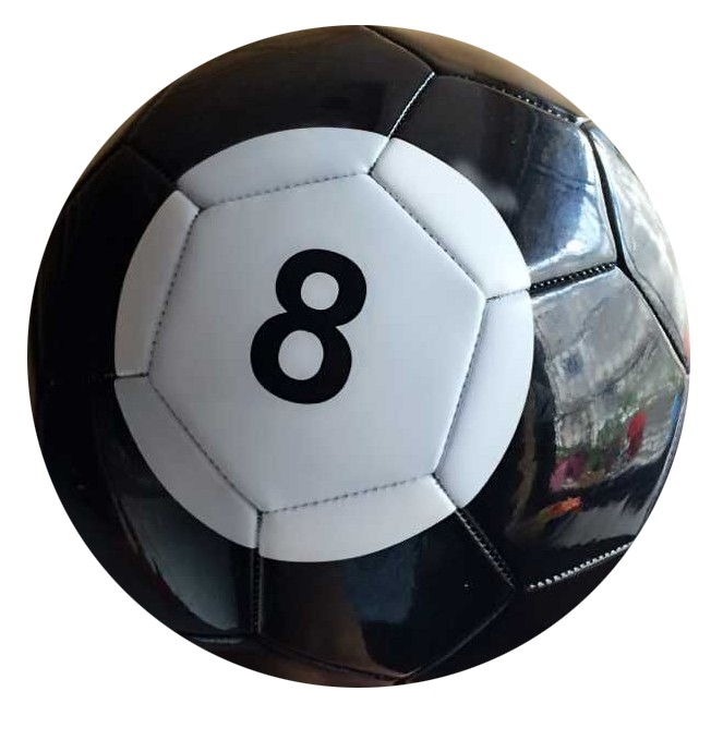 5# Gaint Snook FootBall Snookball Snooker Billiards Soccer 8 Inch Game Huge Ball Pool Include Air Pump Soccer Toy