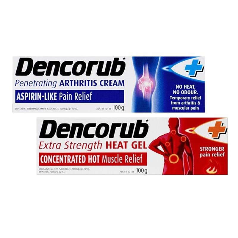 Australia Dencorub Arthritis Cream 100g Arthritis Rheumatism Lumbago Fibrositis Sore Back Muscles Pain Relief Massage Gel|Body Self Tanners & Bronzers| - AliExpress