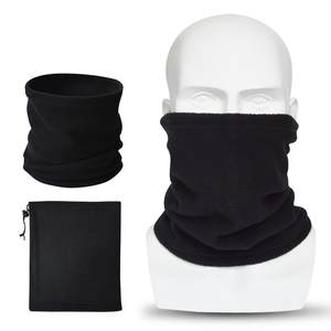 Men Scarfs Beanie Snood Face-Mask Neck-Warmer Fleece Autumn Thick Unisex Women New-Fashion
