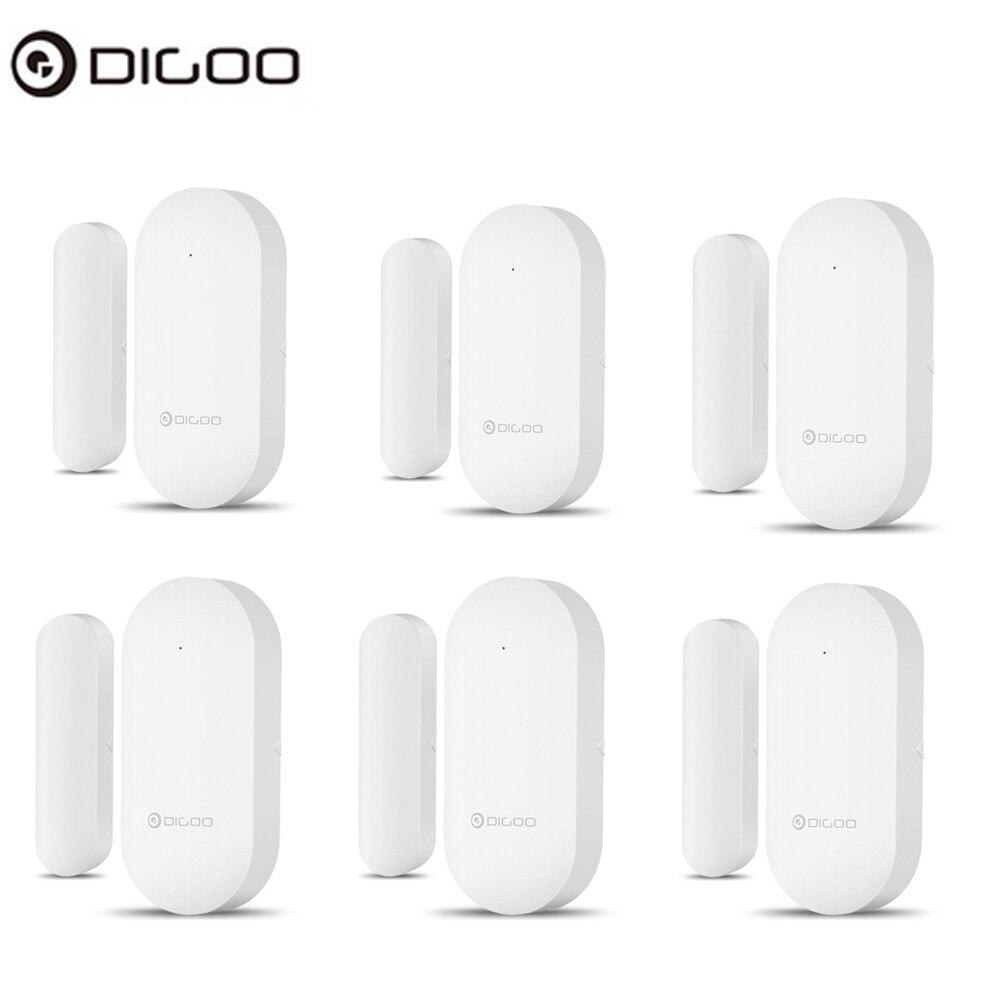 DIGOO Модернизированная 433MHz Новая дверь - Окно сигнал тревоги датчик дверь открыть / Закрытые детекторы Беспроводной датчик безопасности опов...