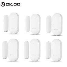 DIGOO atualizado 433MHz Nova porta do sensor de alarme de porta e janela aberto / detectores fechados sensor de alarme de segurança de alerta sem fio para Digoo DG-HOSA DG-HAMA Sistema de segurança