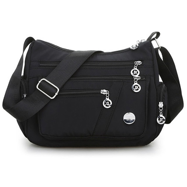 New Casual Crossbody Shoulder Bag Women Bag Nylon Waterproof Messenger Bags For Lady Handbags High Quality Multifunctional 6