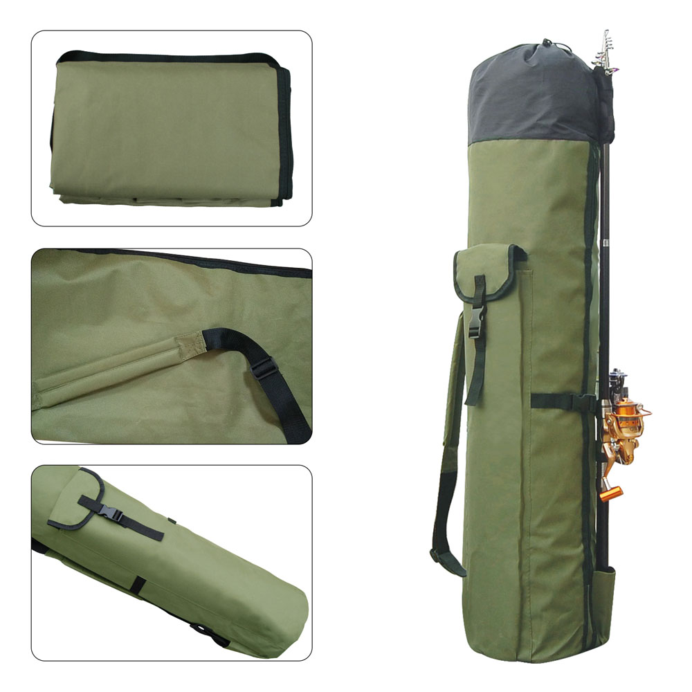 Shaddock Fishing Portable Multifunction Nylon Fishing Bags Fishing Rod Bag Case Fishing Tackle Tools Storage Bag-3