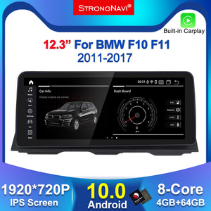 12.3'' IPS 1920*720 4G Lte Android 10.0 car Radio Multimedia Player for BMW 5 Series F10 F11 2010-2016 CIC NBT gps navigation