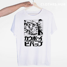 Cowboy Bebop Japanese Anime Movie T-shirt O-Neck Short Sleeves Summer Casual Fashion Unisex Men And Women Tshirt(China)