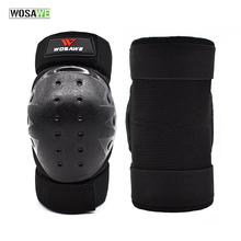 WOSAWE Safety Motorcycle Elbow Knee Pads Protective Gear Cycling Skating Snowboarding Knee Elbow Guards Anti-slip knee protector smith safety gear crown park elbow pads