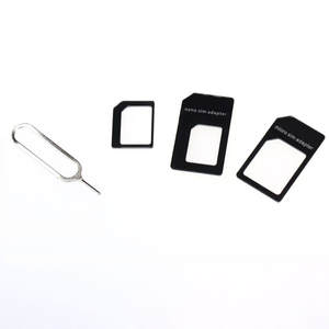 Convert Nano SIM Card to Micro Standard Adapter For Phone  Made Of Fine Plastic, Perfect Protect Your SIM Card